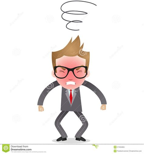 character furious businessman royalty free stock photo image 37464855