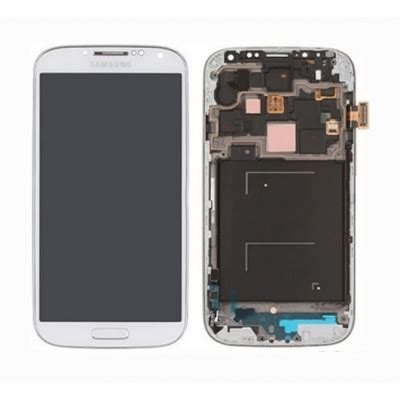 Lcd Hp Samsung S4 samsung galaxy s4 i9505 4g lcd assembly with frame white