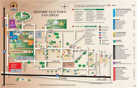 map world san diego san diego town map