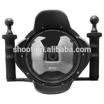 Dome Shoot For Go Pro 3 3 4 Limited shoot pro 6 inch for gopro waterproof diving dome port