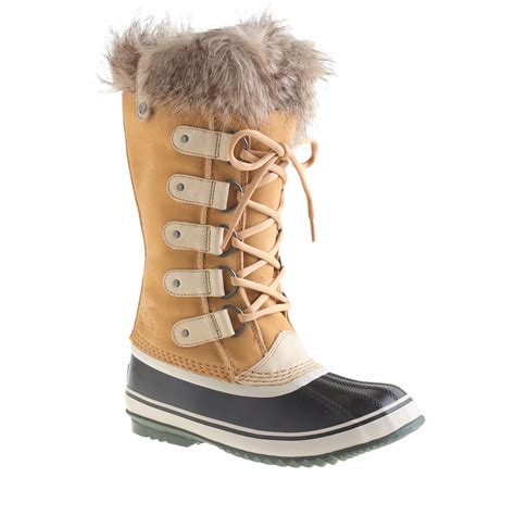 womans sorel boots j crew s sorel joan of arctic boots in lyst