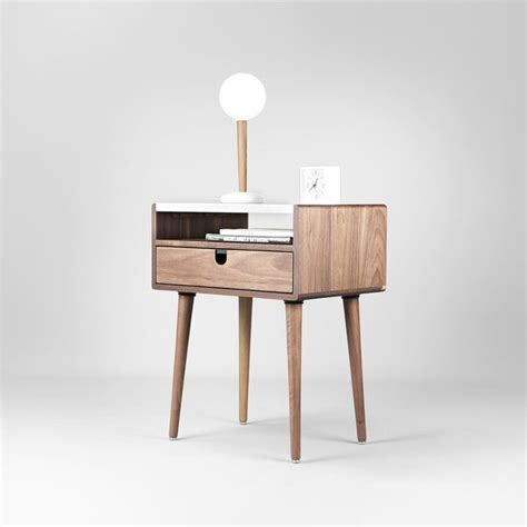 best bedside table best 20 walnut bedside table ideas on side tables retro bedside tables and classic