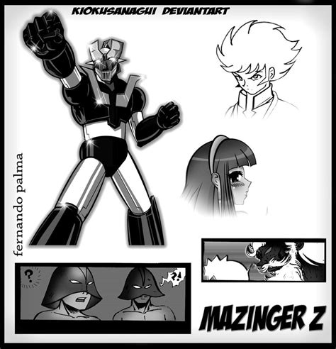 Mazinger Z Drawing by Mazinger Z Mis Sketches E Imajenes De Historia By