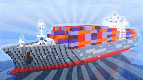 minecraft cargo boat how to build a cargo ship in minecraft creative building