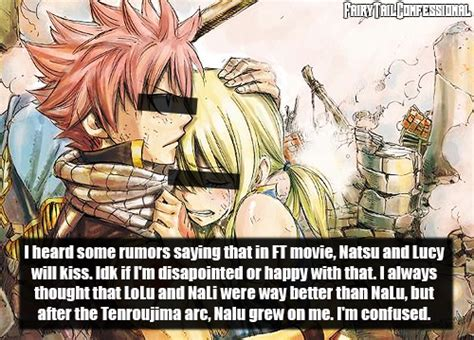 film lucy kiss fairy tail confessions