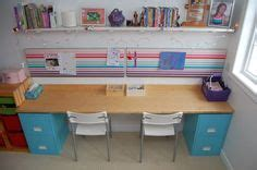 Make a beautiful large desk or sewing desk from a cheap
