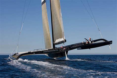 hydrofoil catamaran oracle bmw oracle 90 foot trimaran