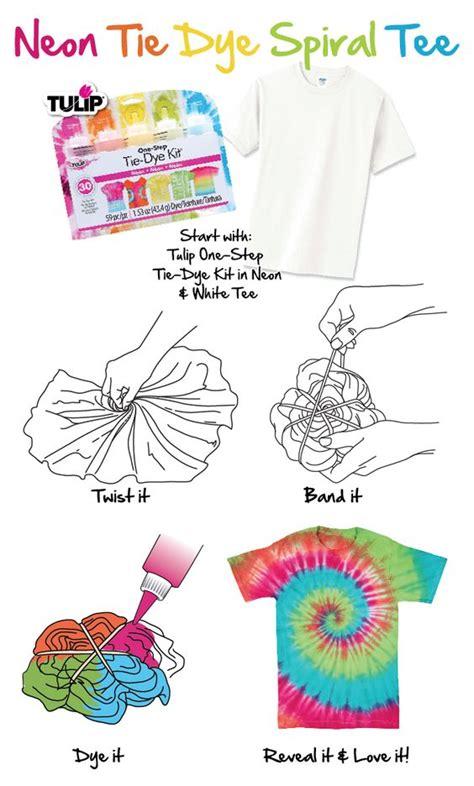 how to neon tie dye spiral tee tie dye diy crafts pinterest summer shirts and tutorials