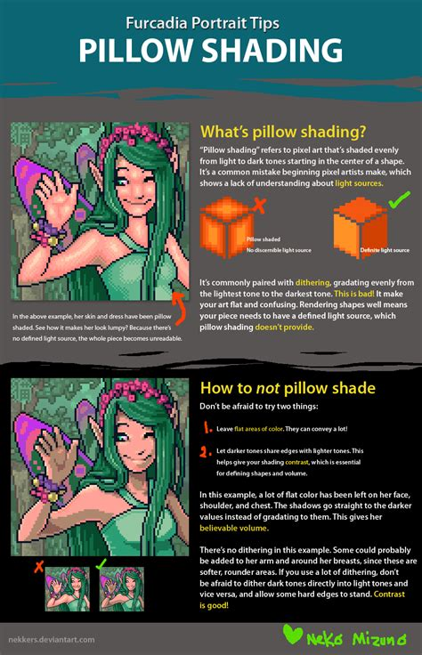 furc port tips pillow shading by nekkers on deviantart