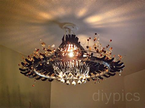 Diy Wire Chandelier Diy Hanger Chandelier Up Cycle It Black Chandelier Upcycle And Awesome