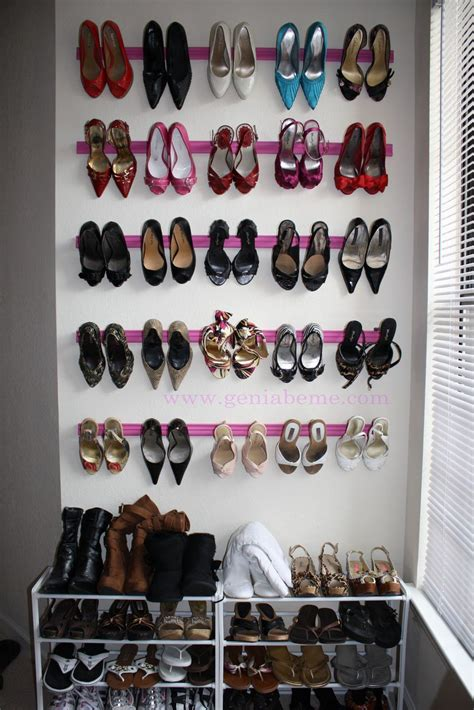 diy shoe spray crown molding shoe rack tutorial diy shoe rack shoe