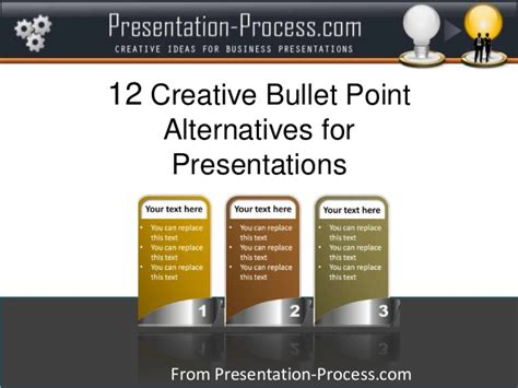 powerpoint tutorial bullet points 12 creative bullet point alternatives for presentations