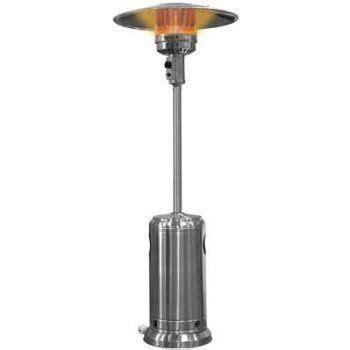 Standing Propane Patio Heater Garden Sun Gs4100ss Floor Standing 41 000 Btu Propane Powered Patio Heater With Push Button