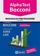 bocconi test d ingresso test di ammissione all universit 224 libri e corsi alpha test