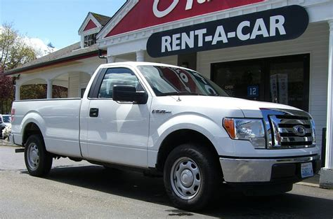 ford  pick  truck rental car seattle bellevue kirkland washington