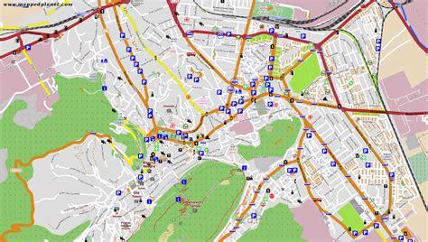 map of city maps bra蝓ov