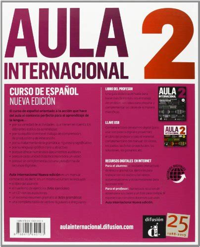 aula internacional nueva 8415640102 aula internacional libro del alumno con espansione online con cd audio per le scuole