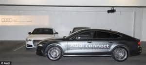 audi introduces the a7 an automated car that can self