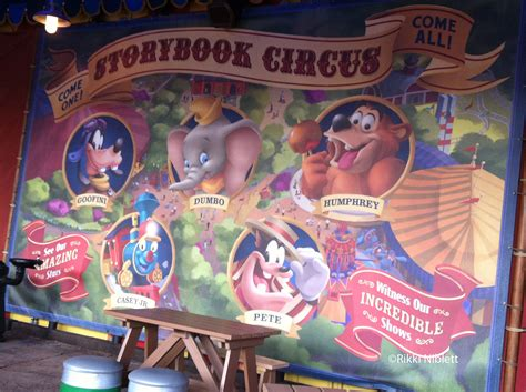 Disney Circus magic kingdom s storybook circus don t miss its time