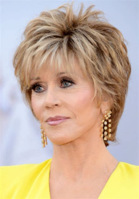 jane fonda hairstyles 2015 jane fonda haircuts shaggy bobs womanly waves and the