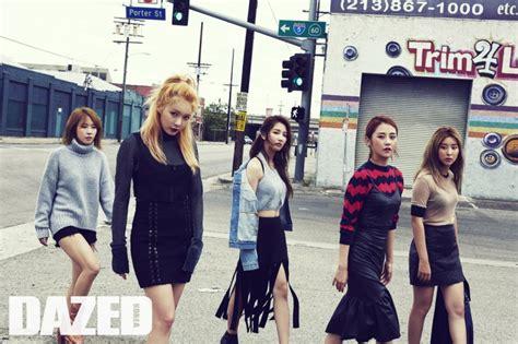 4minute For Dazed Korea September 2015 | 4minute for dazed korea september 2015
