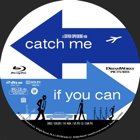 catch me catch me if you can custom dvd labels catch me if you