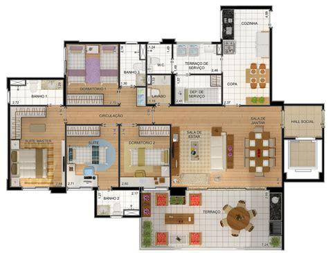 plantas casas plantas de casas 4 quartos