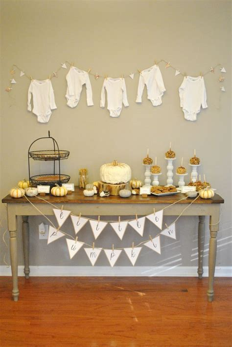 fall themed decorations best 25 fall baby showers ideas on baby