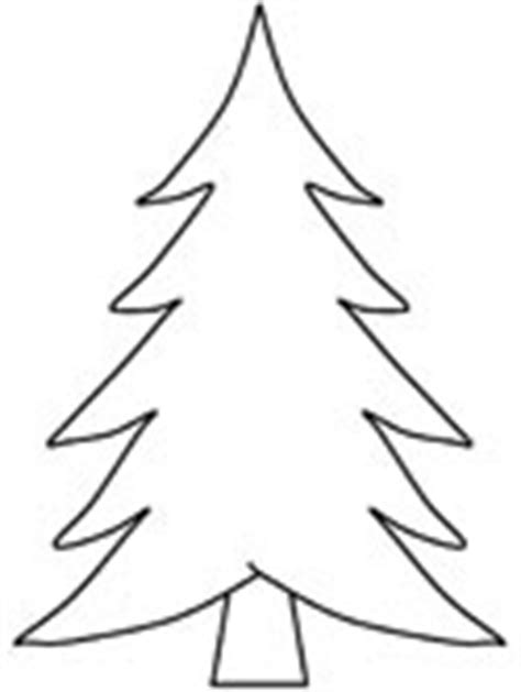 coloring page of evergreen tree trees coloring pages
