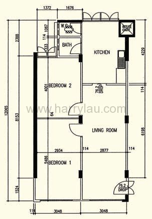 District 5 Schoolhouse Floor Plan - 3 room hdb singapore real estate harry liu