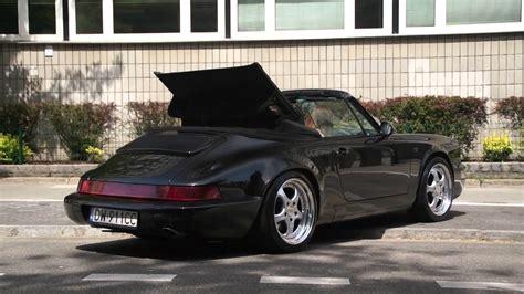 porsche 964 cabriolet porsche 911 964 carrera 2 cabrio in warsaw youtube