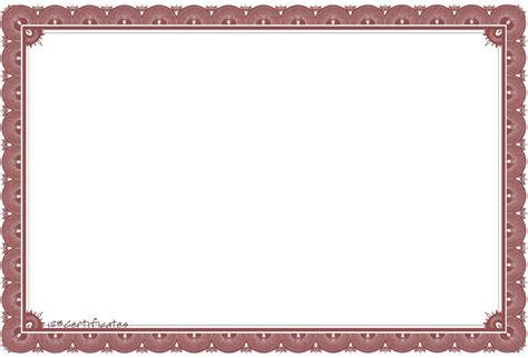 template sertifikat word gambar bingkai untuk sertifikat atau ijazah multi info