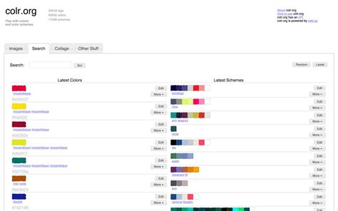 best color palette generators html color codes best color palette generators html color codes
