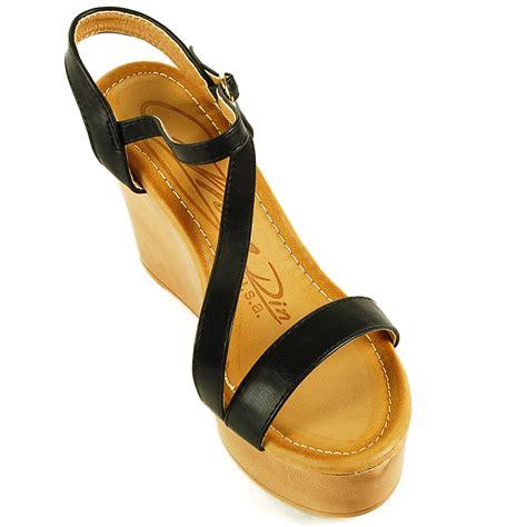 platform comfort shoes womens platform sandals ankle strap open toe slingback