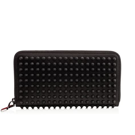 Christian Louboutin Panettone Wallet Review by Christian Louboutin Panettone Leather Wallet In Lyst