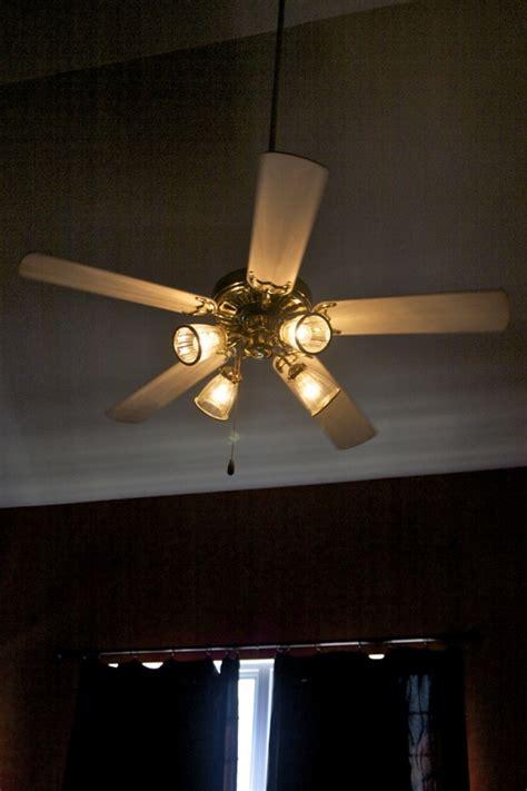 Spray Paint Ceiling Fan by Spray Paint Ceiling Fan Tutorial Brady Lou Project Guru