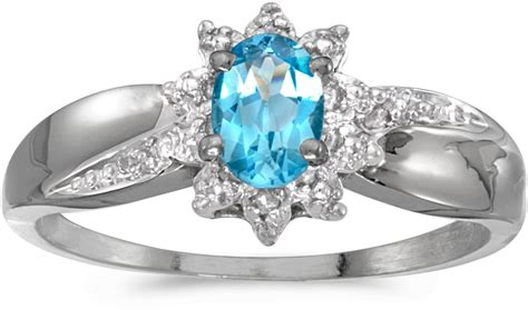 10k white gold oval blue topaz and ring cm rm911w 12