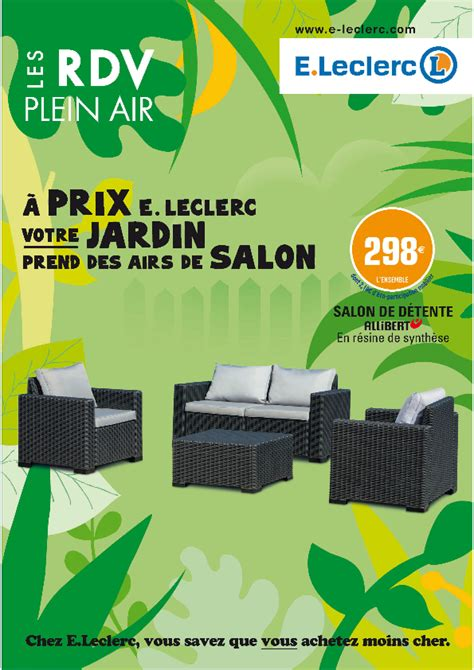 Impressionnant Bricorama Salon De Jardin #3: catalogue-eleclerc-Les-RDV-Plein-Air_001.png