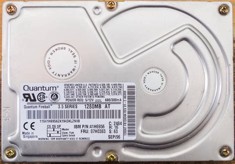 Harddisk Quantum why are drives never as large as advertised user