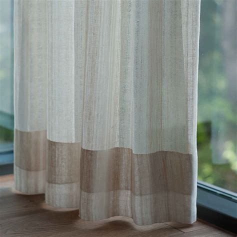 leinen vorhange handgewebte vorh 228 nge aus reinem leinen hergestellt in