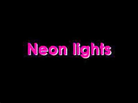 Neon Light Lyrics by Demi Lovato Neon Lights Lyrics
