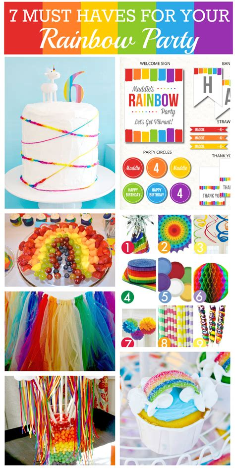 Rainbow Birthday Decorations by 7 Things You Must At Your Rainbow Catch