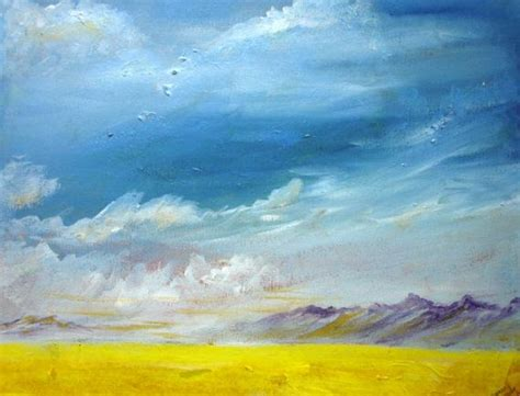acrylic painting sky 1000 images about landscape on acrylics