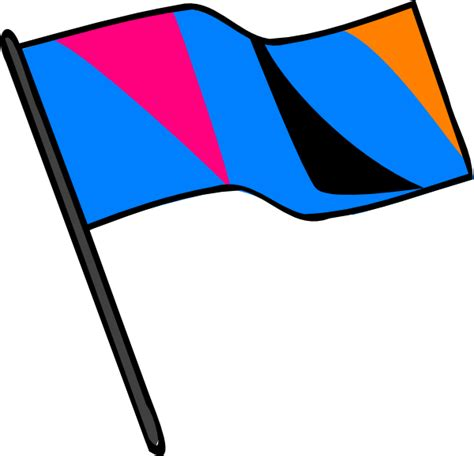 color guard flag color guard flag clip at clker vector clip