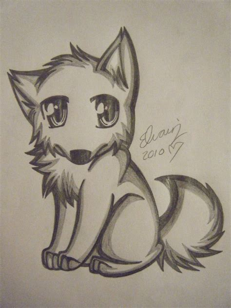 4 Drawing Pencil by Wolf Drawing 4 By Animefan1863 On Deviantart
