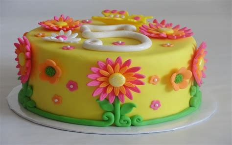 Flower Cakes ? Decoration Ideas   Little Birthday Cakes