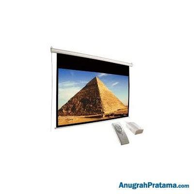 Motorized Screen Proyektor 213x213cm d light ewsdl2121rl 84 inch motorized wall screen