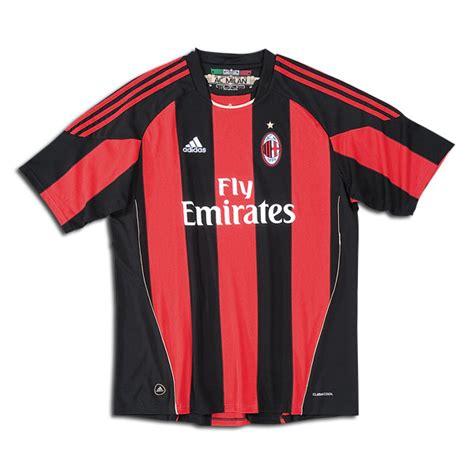 Ac Milan 11 by 10 11 Ac Milan Kit 10 11 Ac Milan Shirt 10 11 Ac Milan