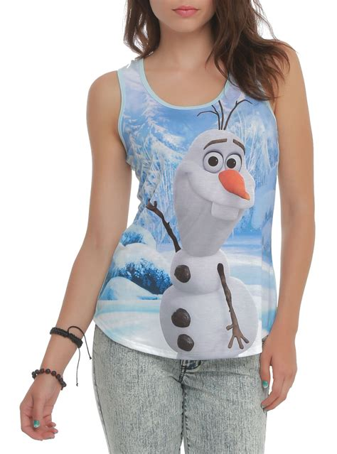 frozen hot topic disney frozen olaf girls tank top hot topic this is so