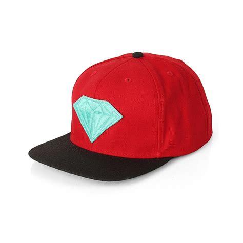 Snapback Austri supply co emblem snapback hat black